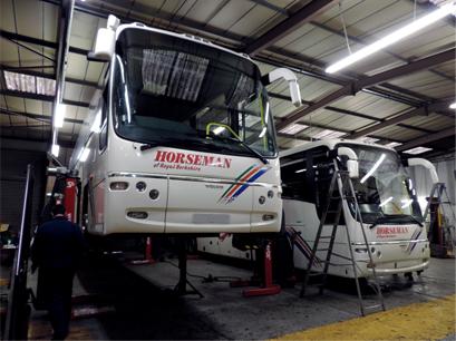 coach maintenance