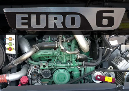 Euro 6 clean engines