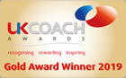 UK Coach Awards Gold Winner 2019