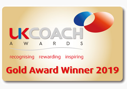 UK Coach Awards - Gold Winner